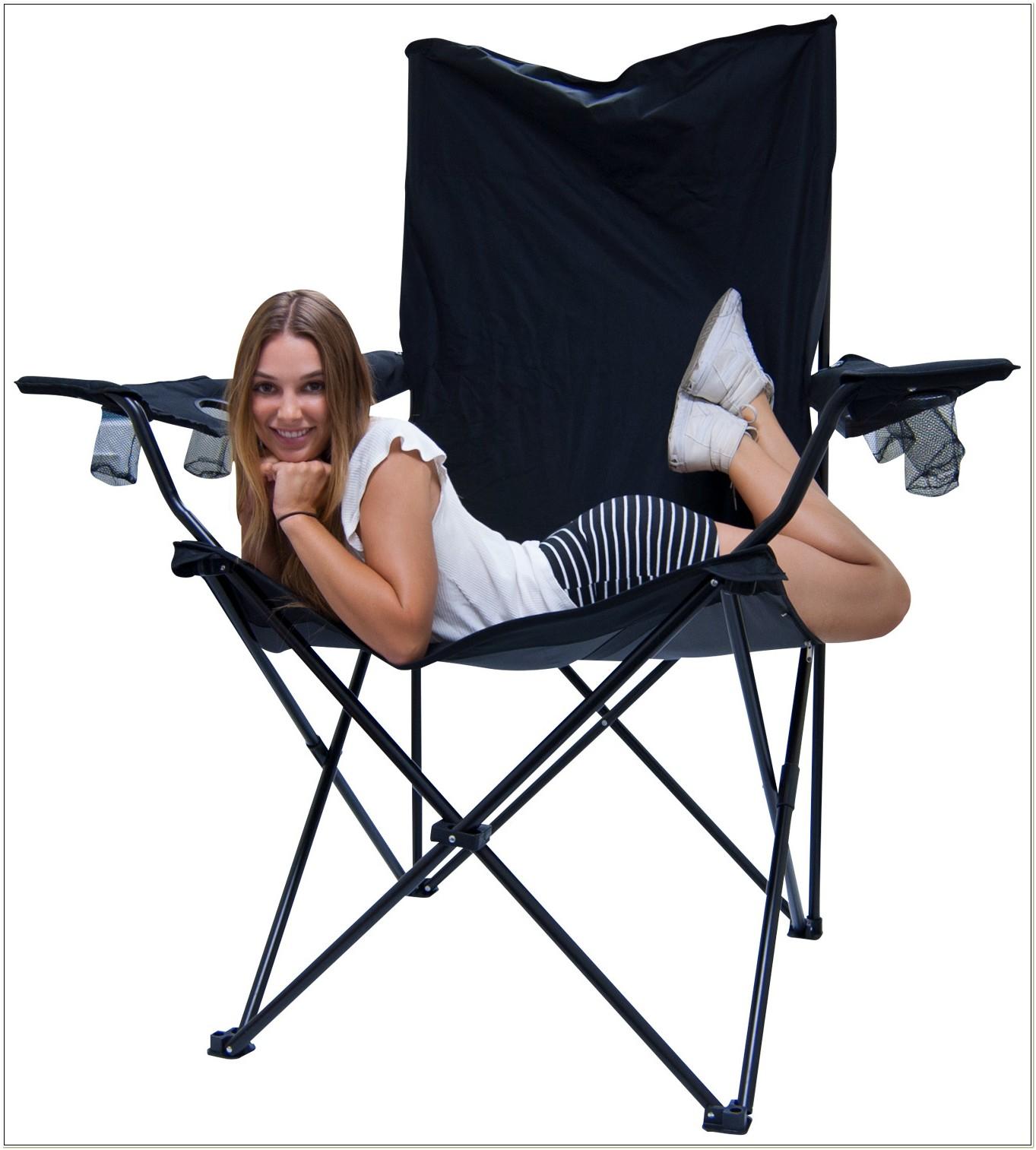 Kingpin Giant Folding Chair Black