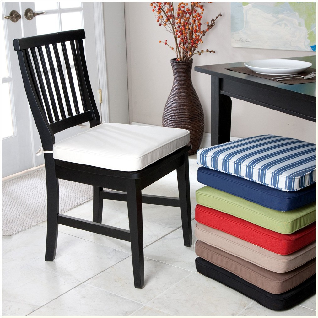 Kitchen Chair Cushions Without Ties