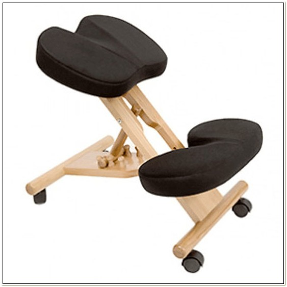 Kneeling Chair With Coccyx Cut Out