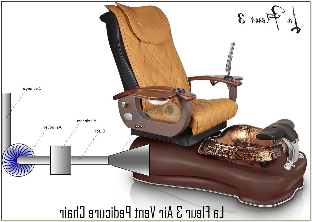 La Fleur Iv Pedicure Chair