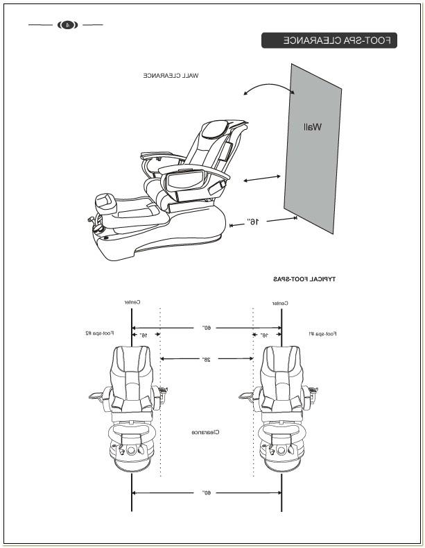 La Fleur Pedicure Chair Manual