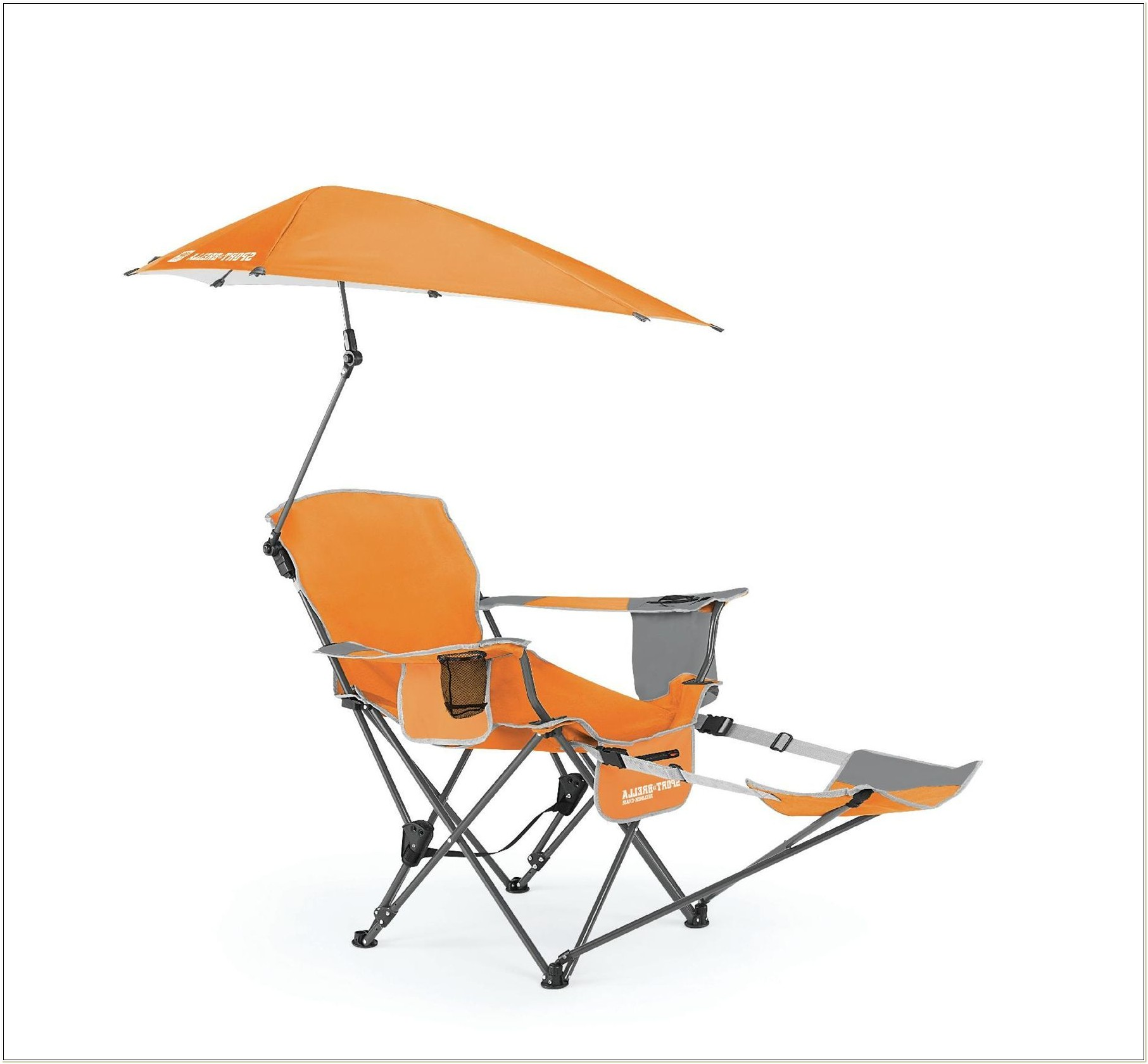 Lawn Chair With Canopy And Footrest