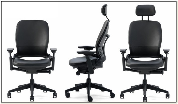 Leap Chair With Adjustable Headrest