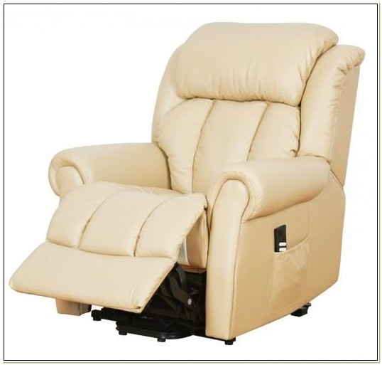 Leather Electric Riser Recliner Chairs