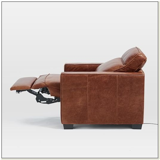Leather Motorized Recliner Chairs