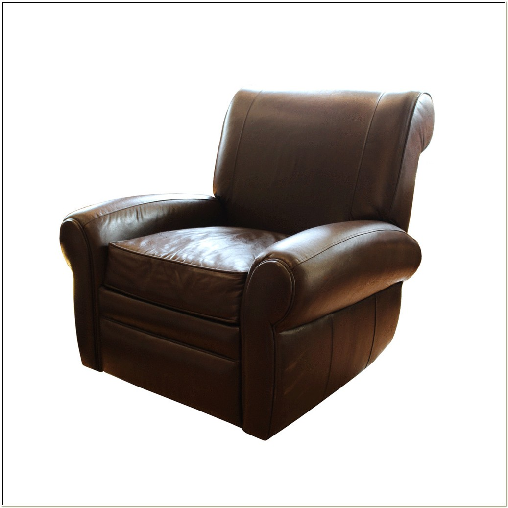 Leather Rocker Recliner Swivel Chair
