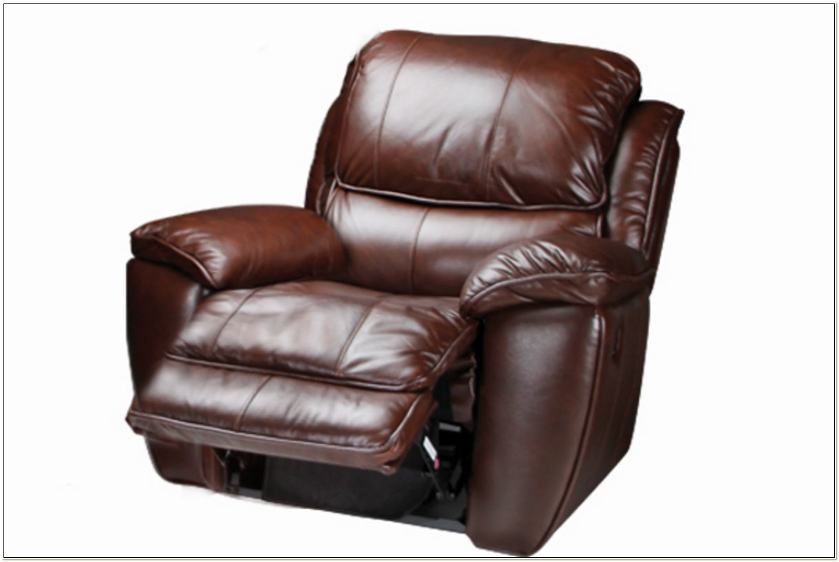 Leather Rocking Recliner Chair