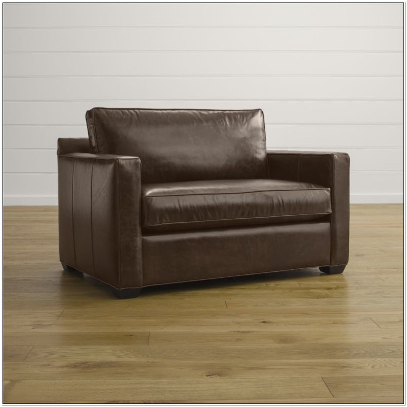 Leather Sleeper Chair And A Half