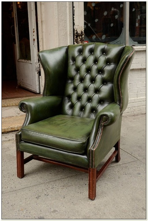 Leather Wingback Reclining Chairs