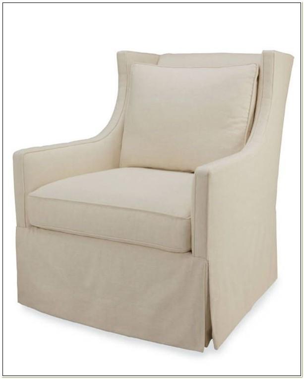 Lee Industries Swivel Club Chair