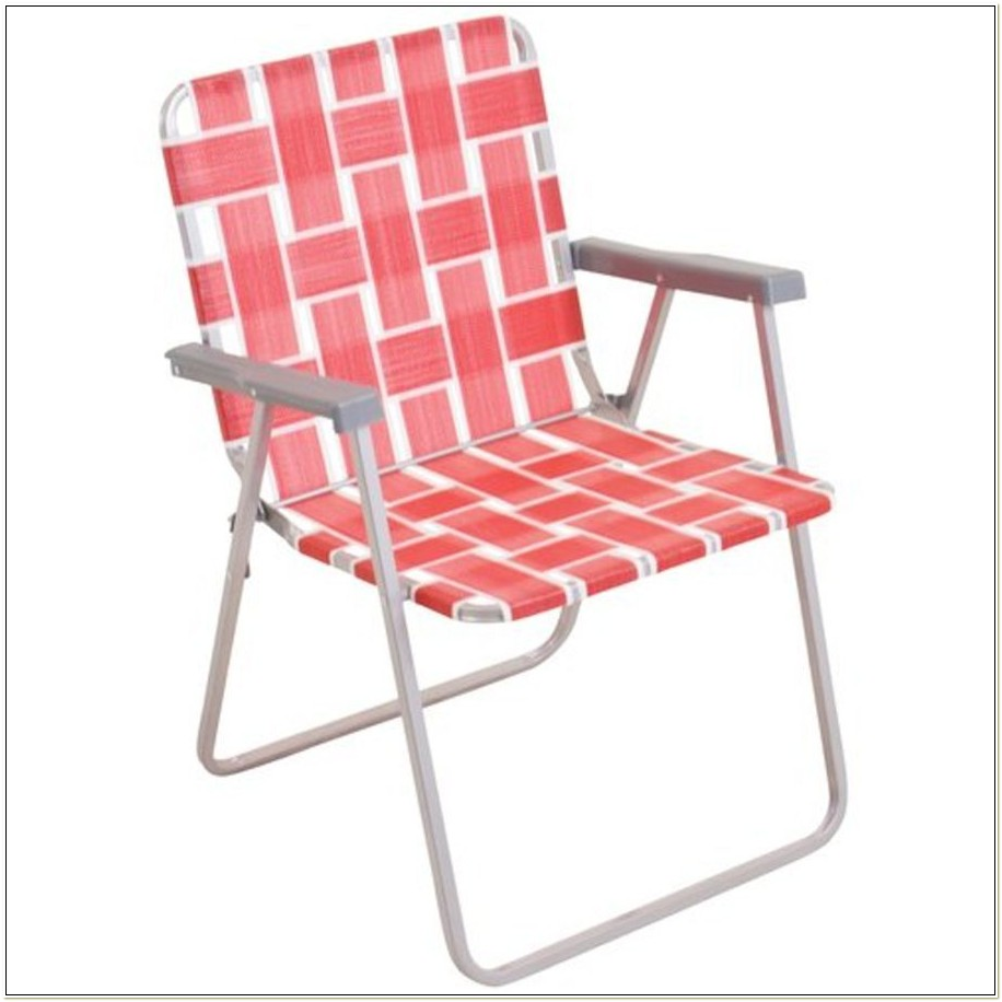 Lightweight Aluminum Webbed Lawn Chairs