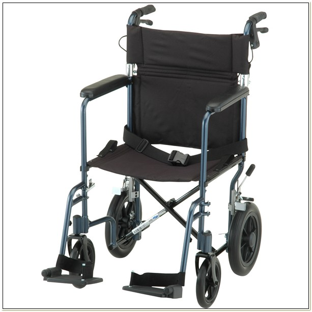 Lightweight Heavy Duty Transport Chair