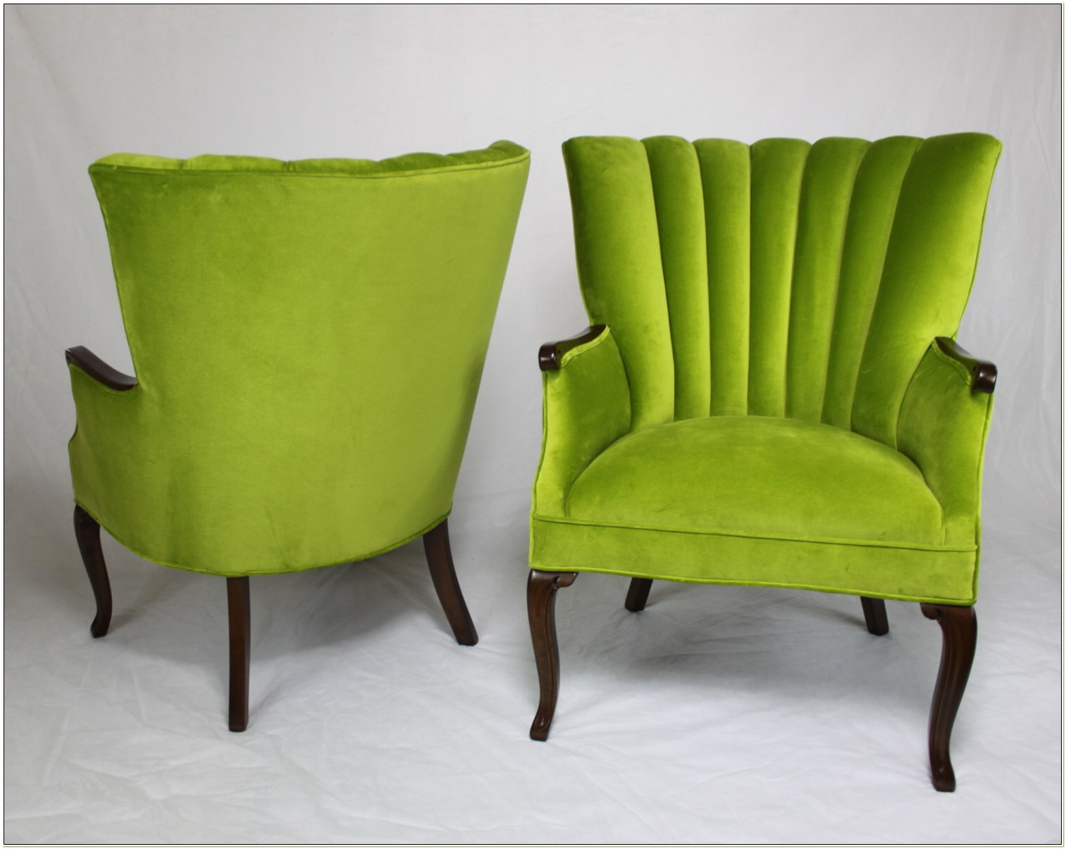 Lime Green Wingback Chair