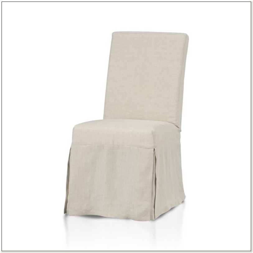 Linen Dining Chair Slipcovers