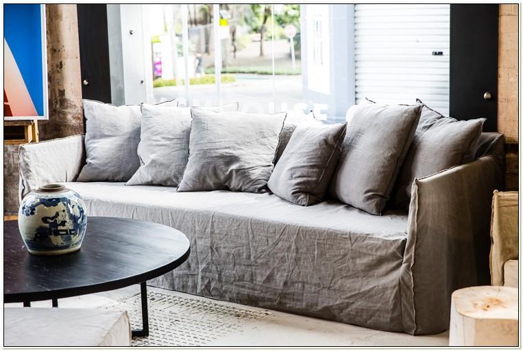 Linen Slipcovers For Sofas