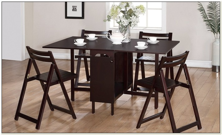 Linon Space Saver Table And Chairs Set