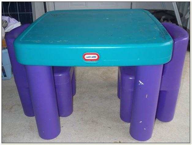 Little Tikes Table And Chairs With Drawers