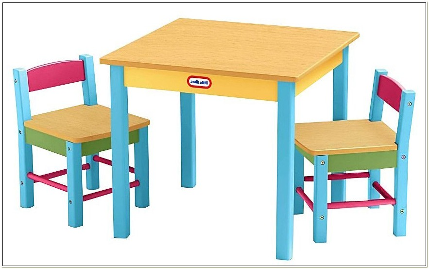 Little Tikes Table And Chairs Wooden