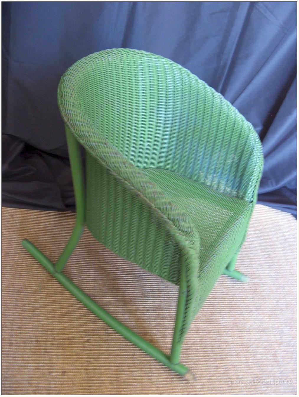 Lloyd Loom Childs Rocking Chair