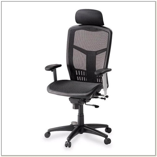 Lorell Executive High Back Chair Headrest
