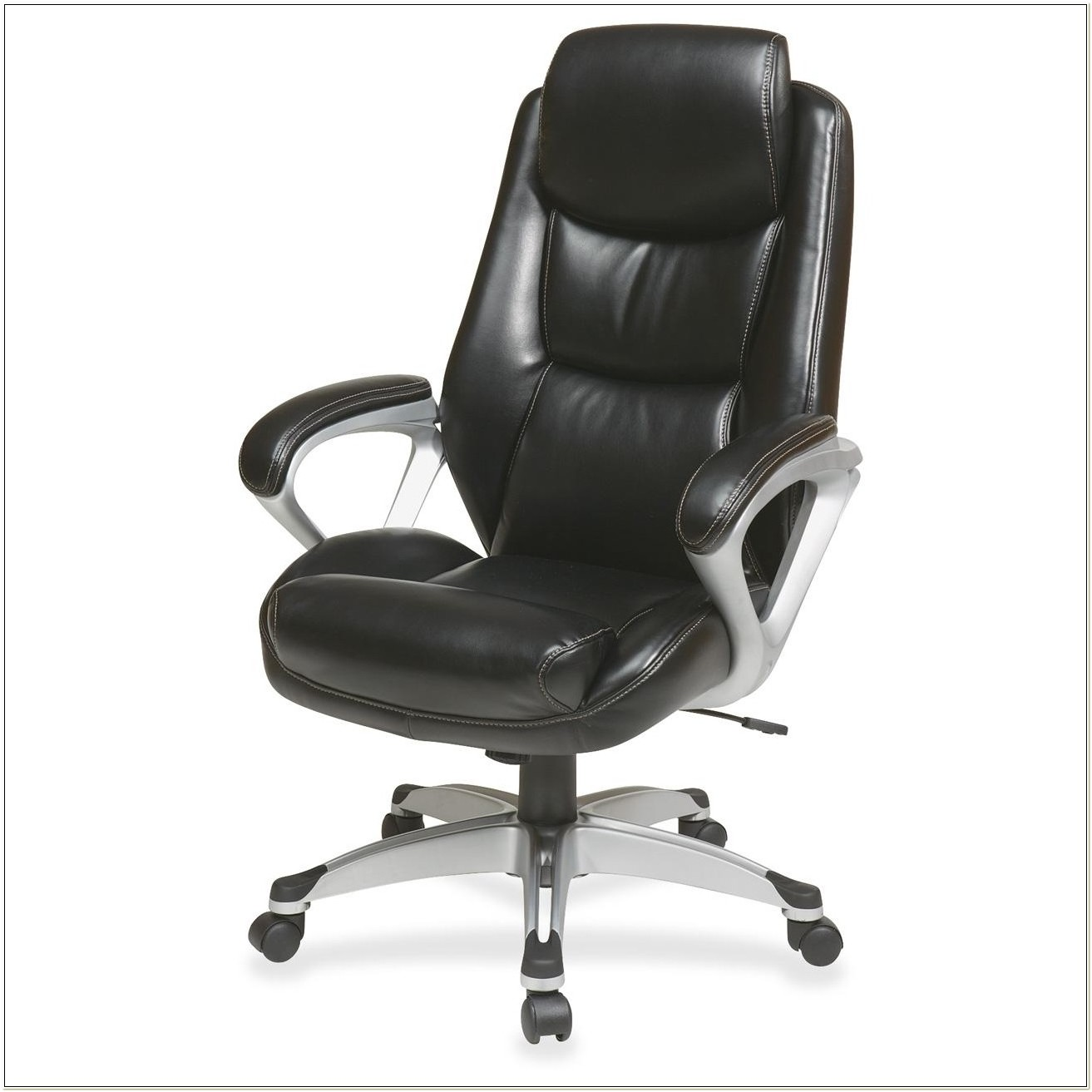 Lorell Executive High Back Chair Leather