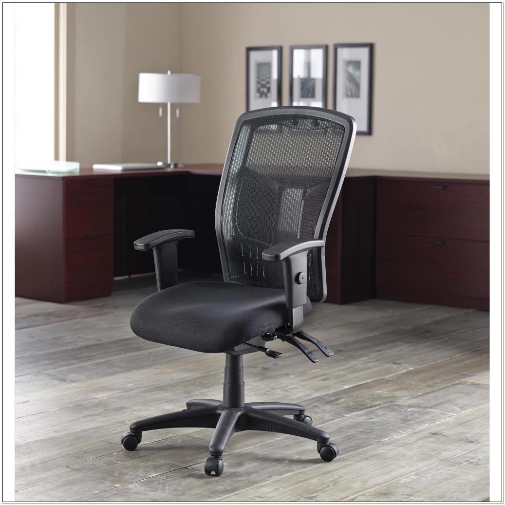 Lorell Mesh Executive Office Chair