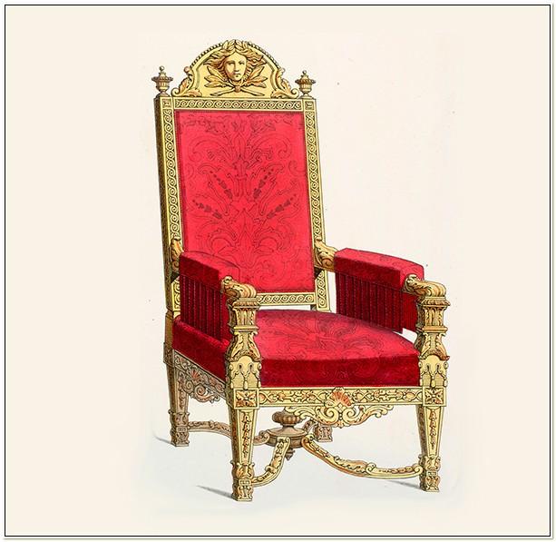 Louis The 14th Chair