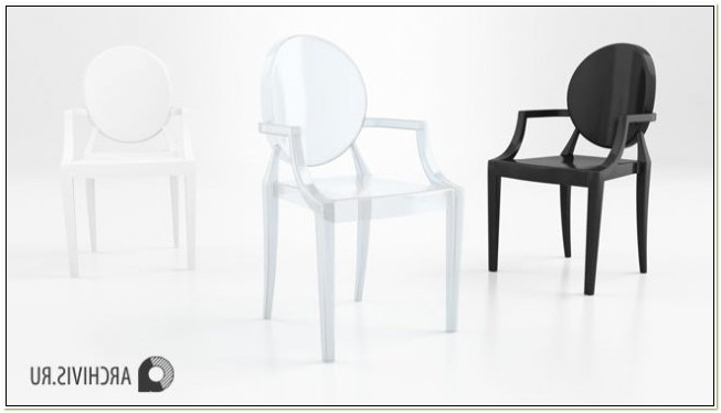 Louis The 14th Ghost Chair