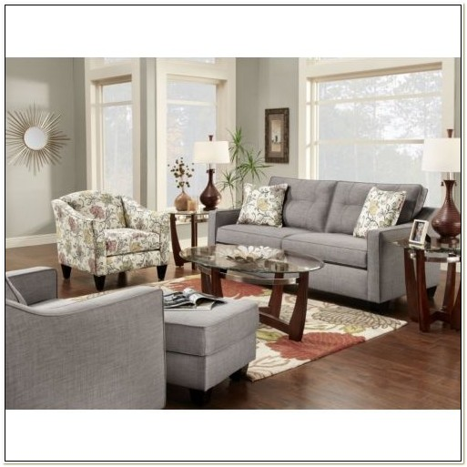 Loveseat And Accent Chair Set