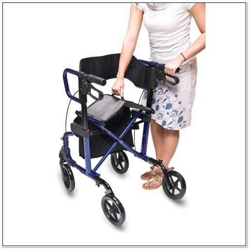 Lumex Hybrid Rollator Transport Chair