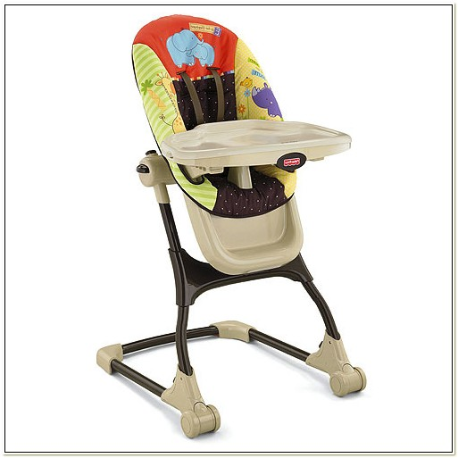 Luv U Zoo High Chair
