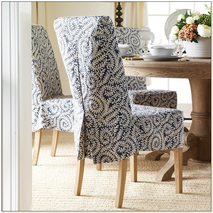 Luxury Dining Chair Slipcovers