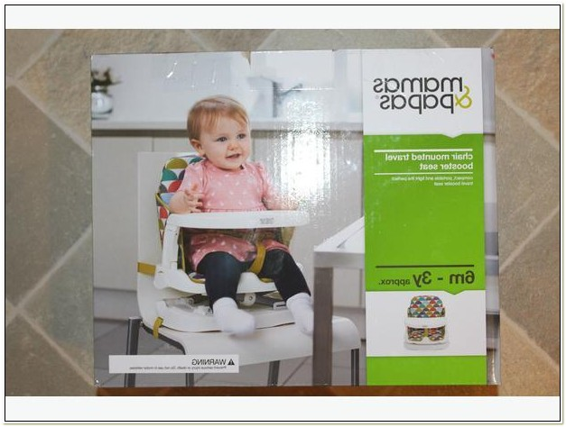 Mamas And Papas Chair Mounted Booster Seat