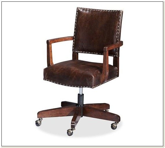 Manchester Swivel Chair Pottery Barn