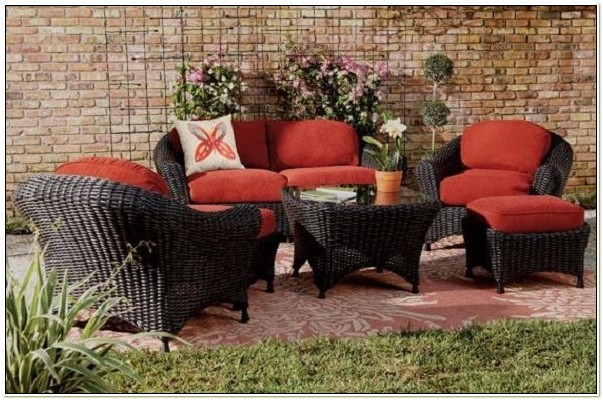 Martha Stewart Outdoor Furniture Cushion Slipcovers