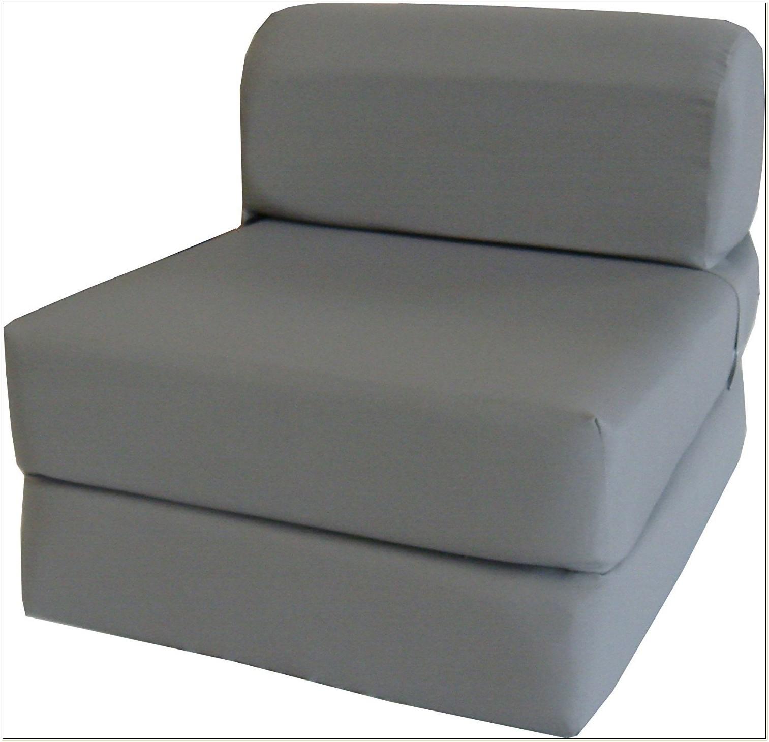 Memory Foam Folding Chair Bed