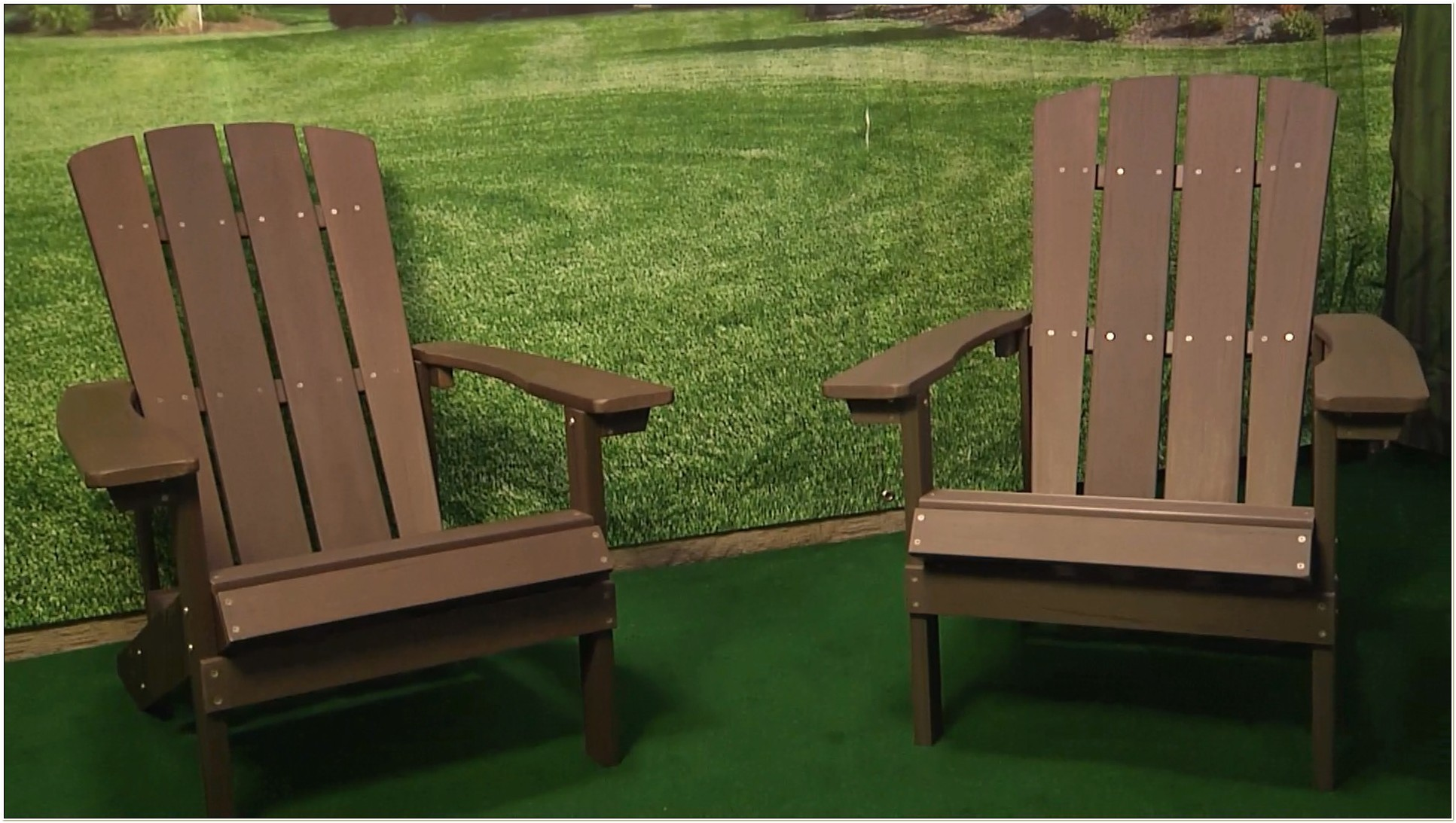 Menards Faux Wood Adirondack Chair
