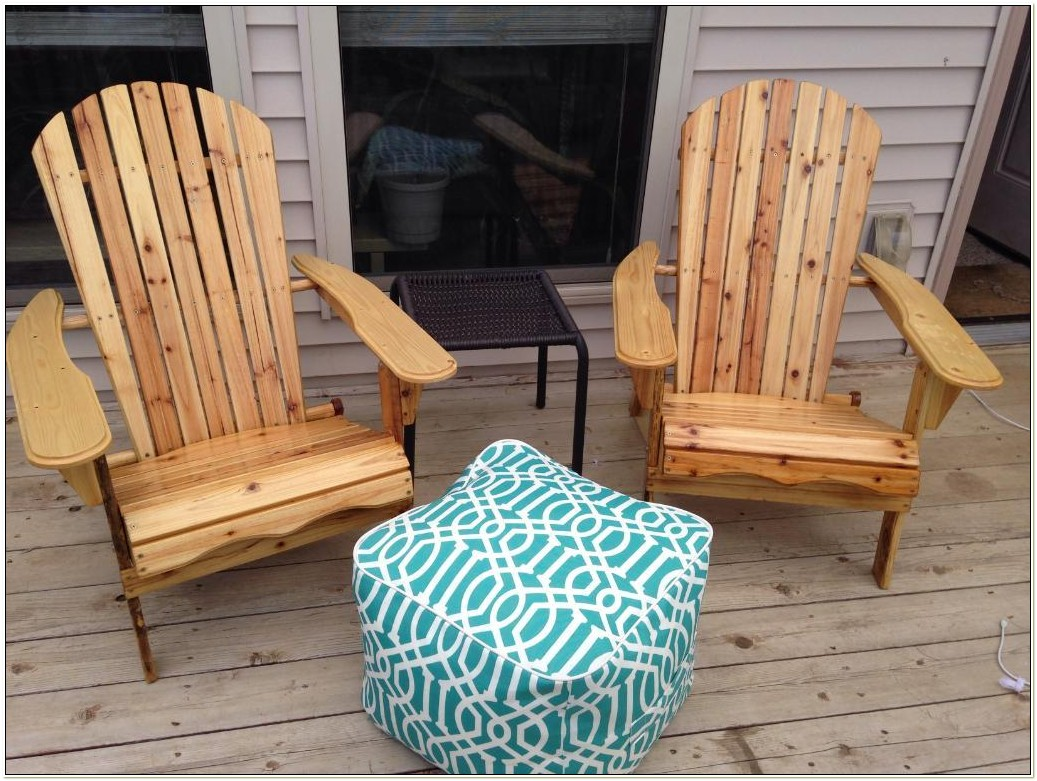Merry Garden Living Accents Folding Adirondack Chair