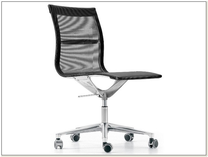 Mesh Task Chairs Without Arms
