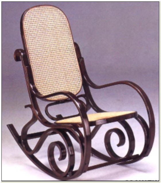 Michael Thonet Bentwood Rocking Chair