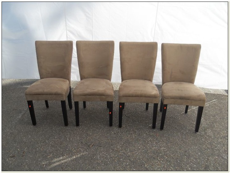 Microfiber Parson Dining Chairs