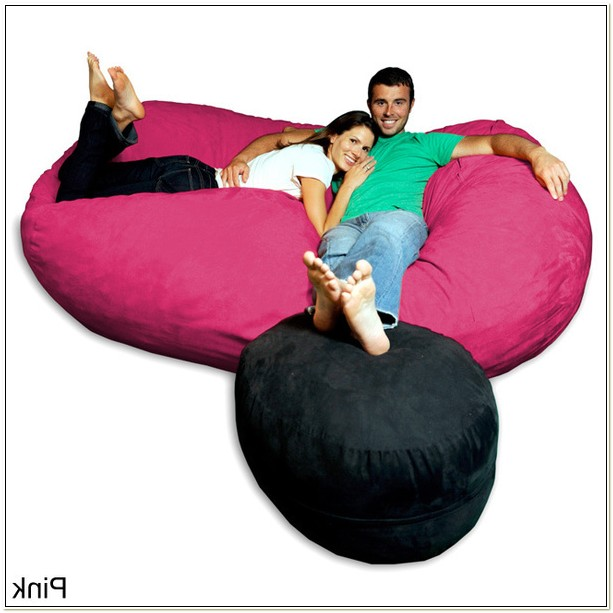 Microsuede Bean Bag Chair