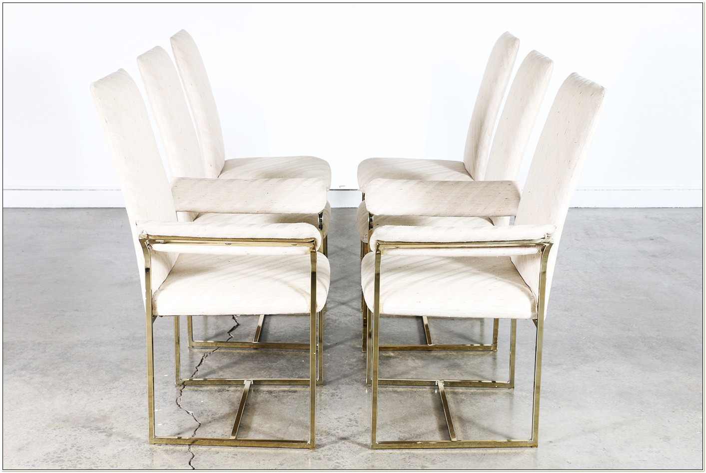 Milo Baughman Style Dining Chairs