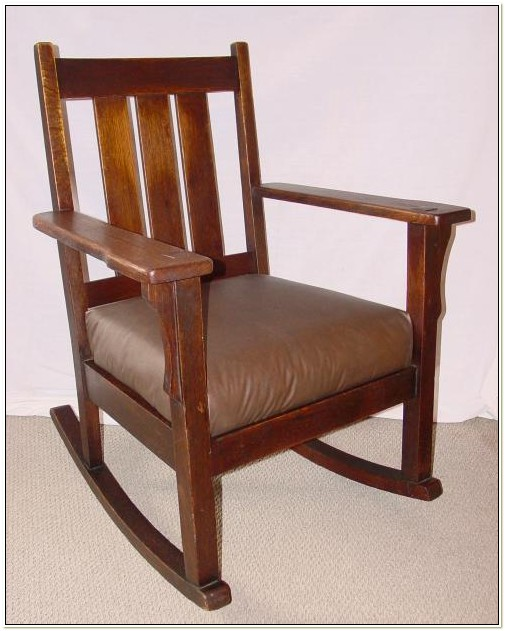 Mission Oak Rocking Chair