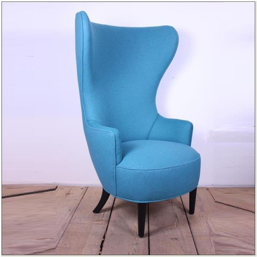 Modern High Wing Back Chairs