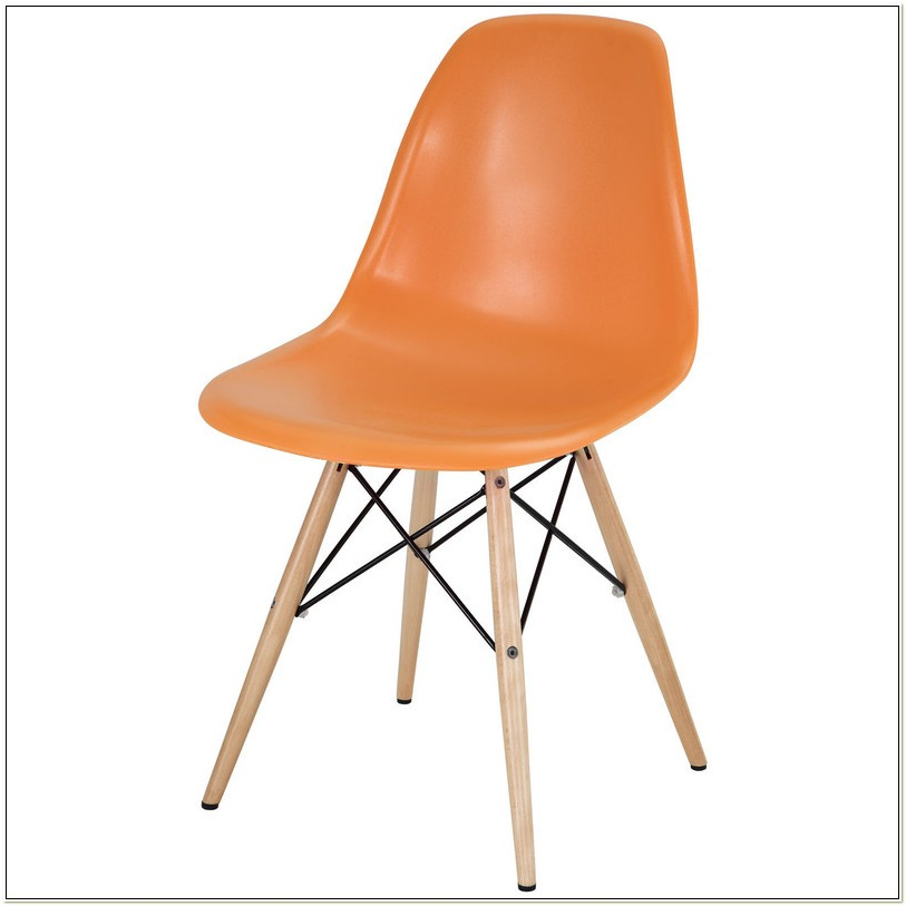 Molded Plastic Chair Eames Reproduction