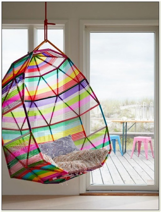 Moroso Tropicalia Cocoon Designer Swing Hanging Chair