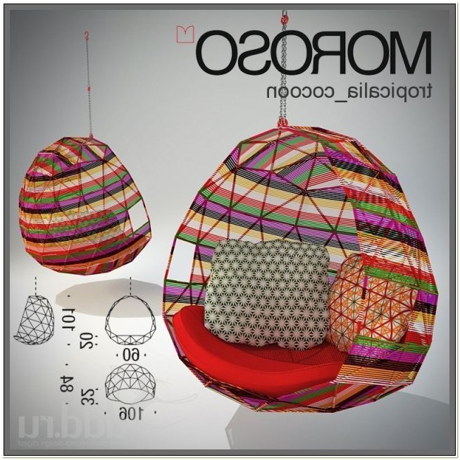 Moroso Tropicalia Cocoon Hanging Chair