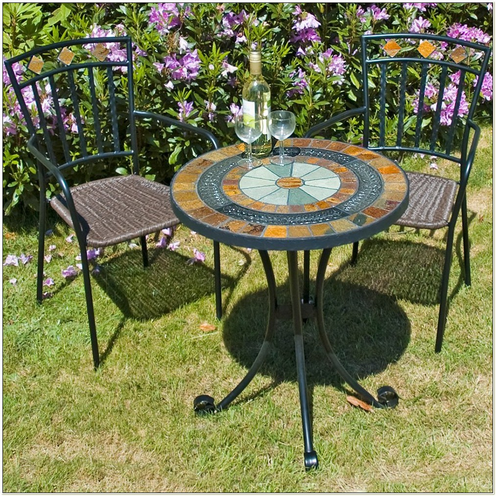 Mosaic Bistro Table And Chair Set