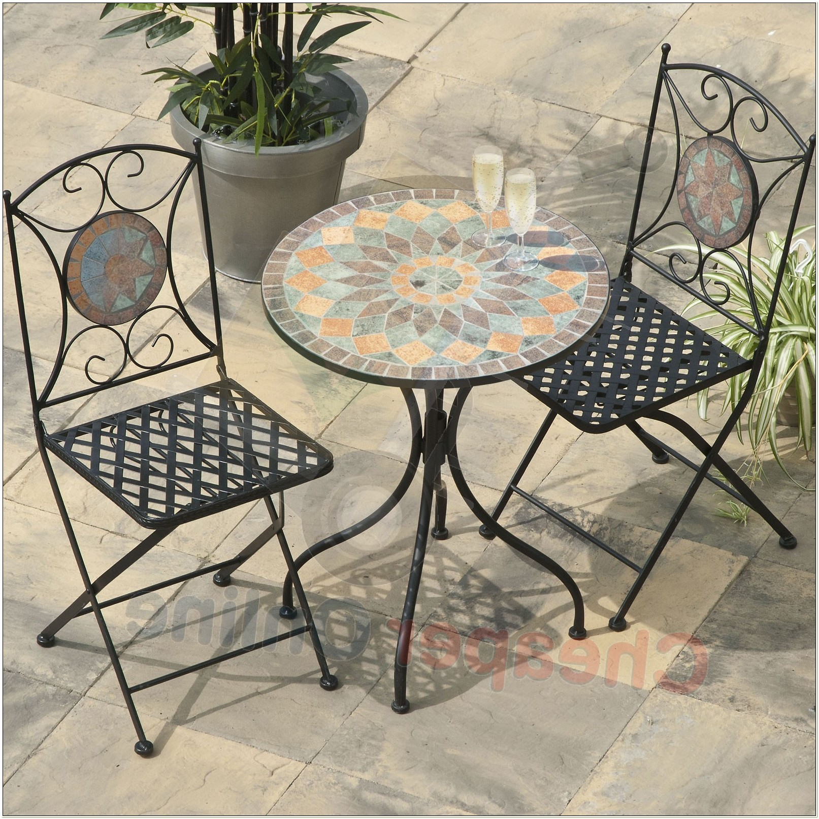 Mosaic Bistro Table And Chairs Uk